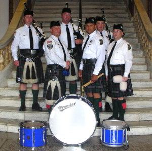 Pipe and Drum Brigade | Fort Wayne Police Department